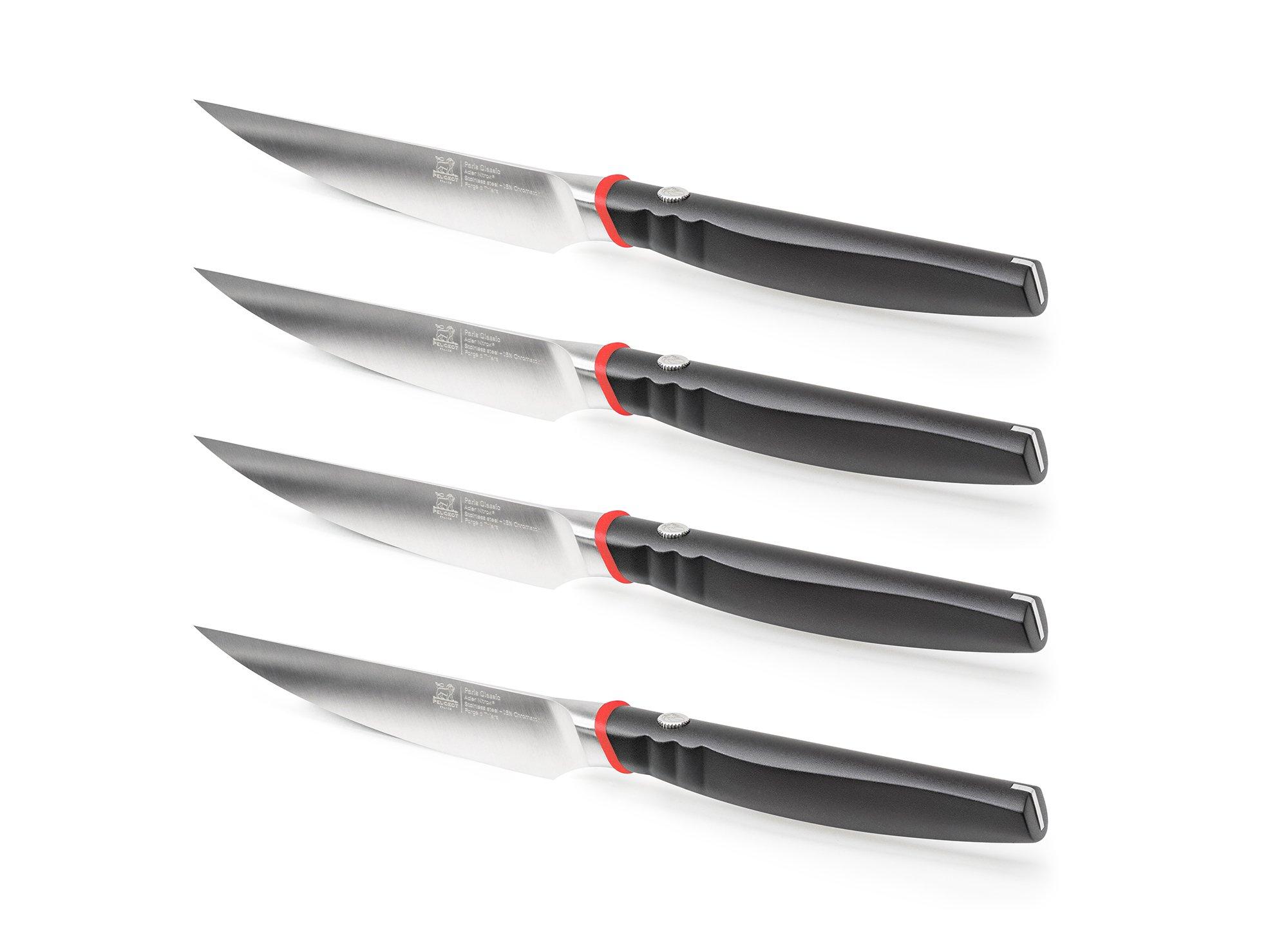 Набор ножей для стейков Steakmesser Paris Classic Peugeot 11 см, 4 шт.