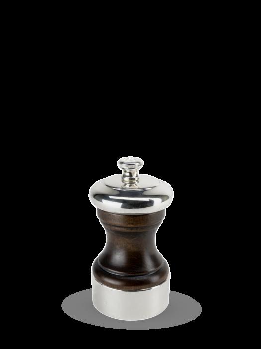 Мельница Palace Peugeot для соли, 10см, серебро, в подарочной коробке