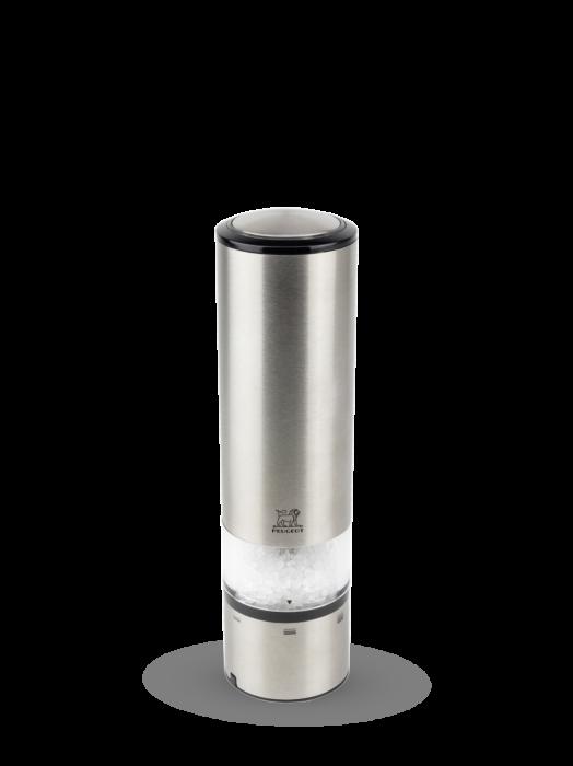 Мельница Elis Sense Peugeot для соли, 20 см, нержавеющая сталь матовая, на бат.