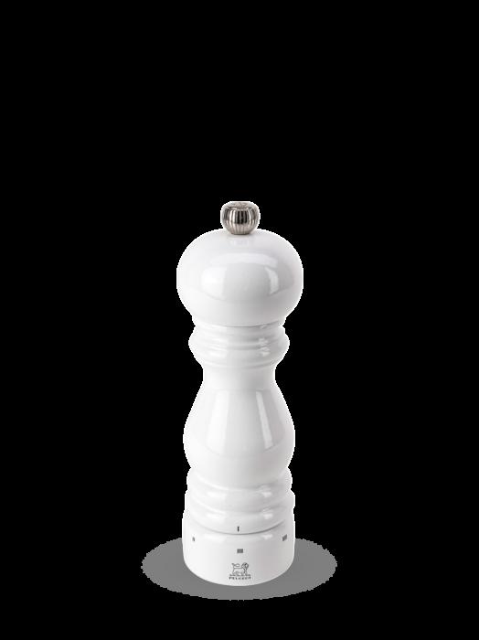 Мельница Paris Peugeot для соли, 18 см, белый лак