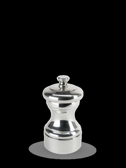 Мельница Mignonnette Peugeot для соли, 10 см, серебро, в подарочной коробке