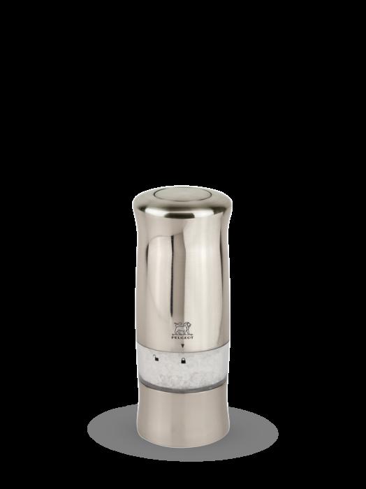 Мельница Zeli Peugeot для соли,14 см, хромированный пластик, на батарейках