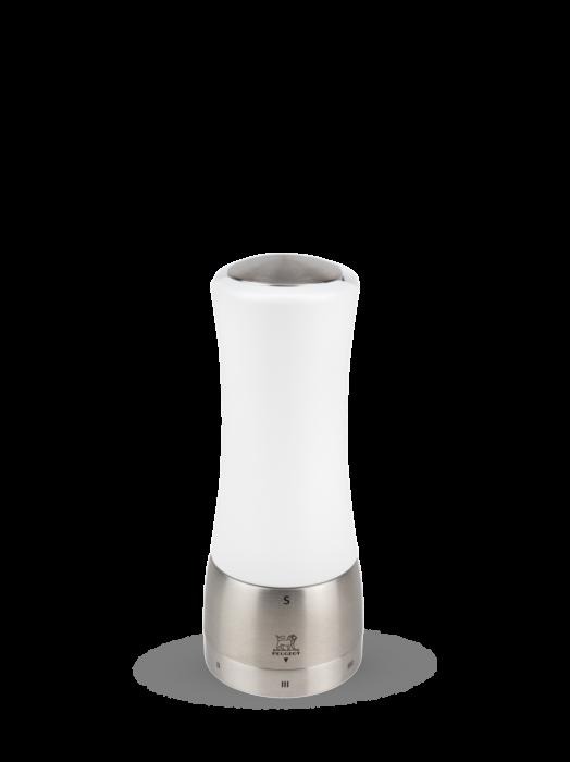 Мельница Madras Peugeot для соли, 16 см, белый матовый